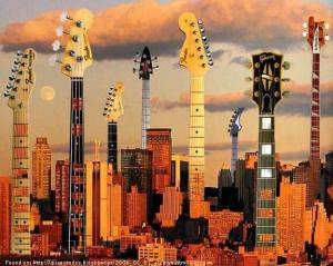 Guitars in New York