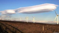 Lenticular clouds over West Yorkshire